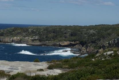 Coastline Cape St George Light house Ruins