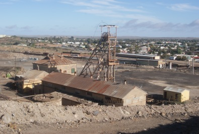 Old Mine in Broken Hill