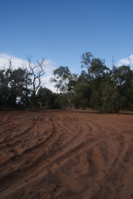 Dry River Bed at Silverton