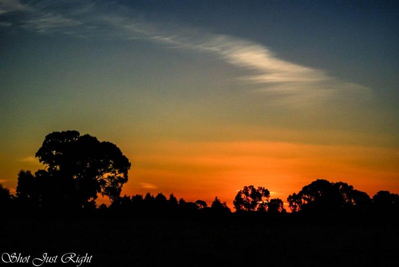 Tonight's Sunset - April in Echuca