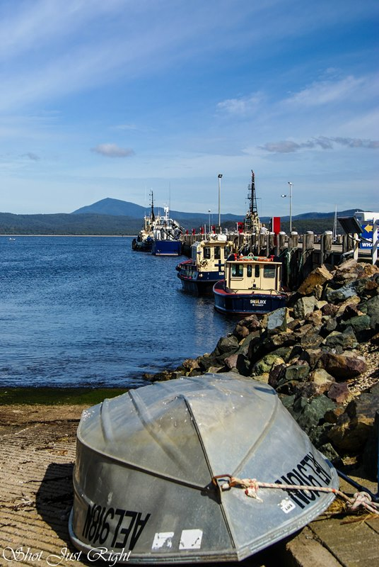 Harbour, Snug Bay, Eden