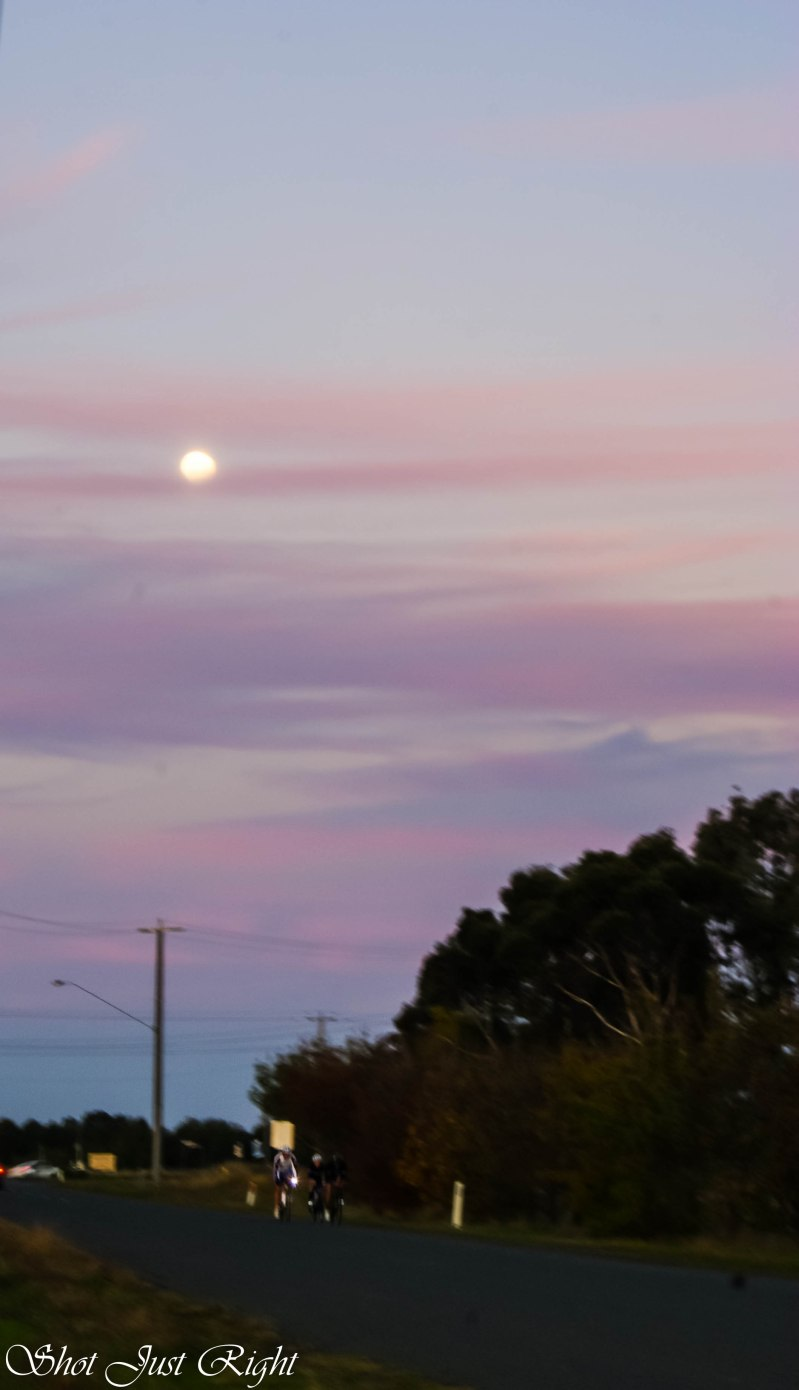 Early moon rise yesterday