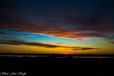 Sunset 27th June.