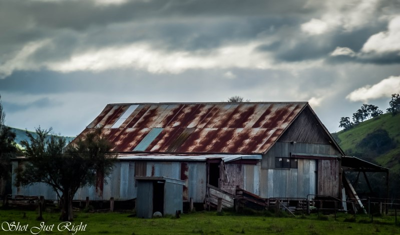 Old Woolshed at Alexandra, Vic