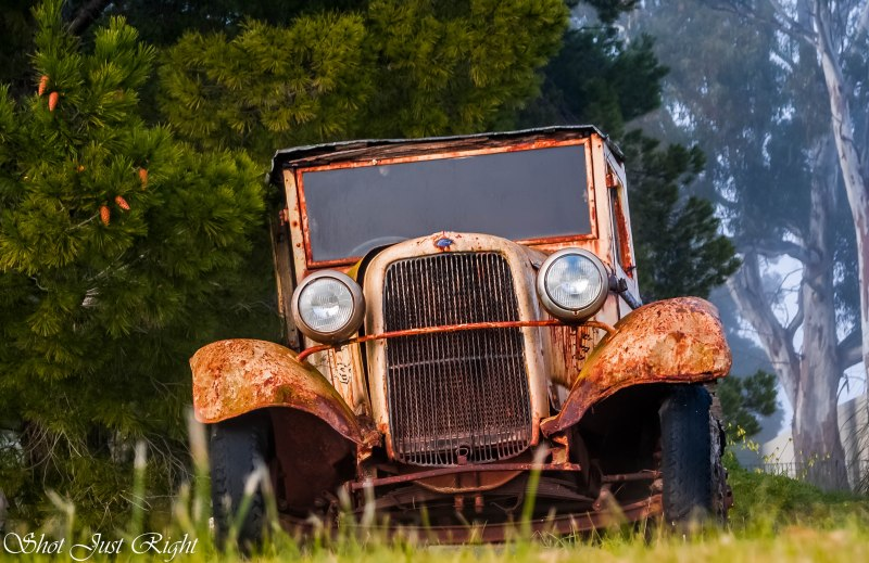 old truck revisited