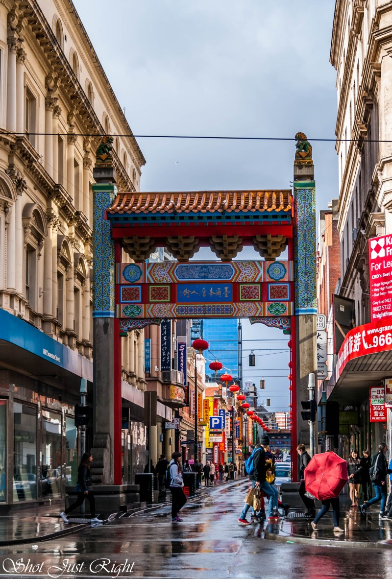 China Town, Melbourne.