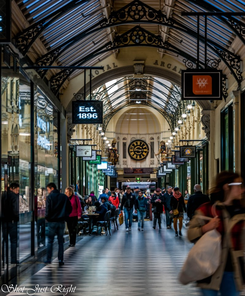 Royal Arcade, Melbourne.