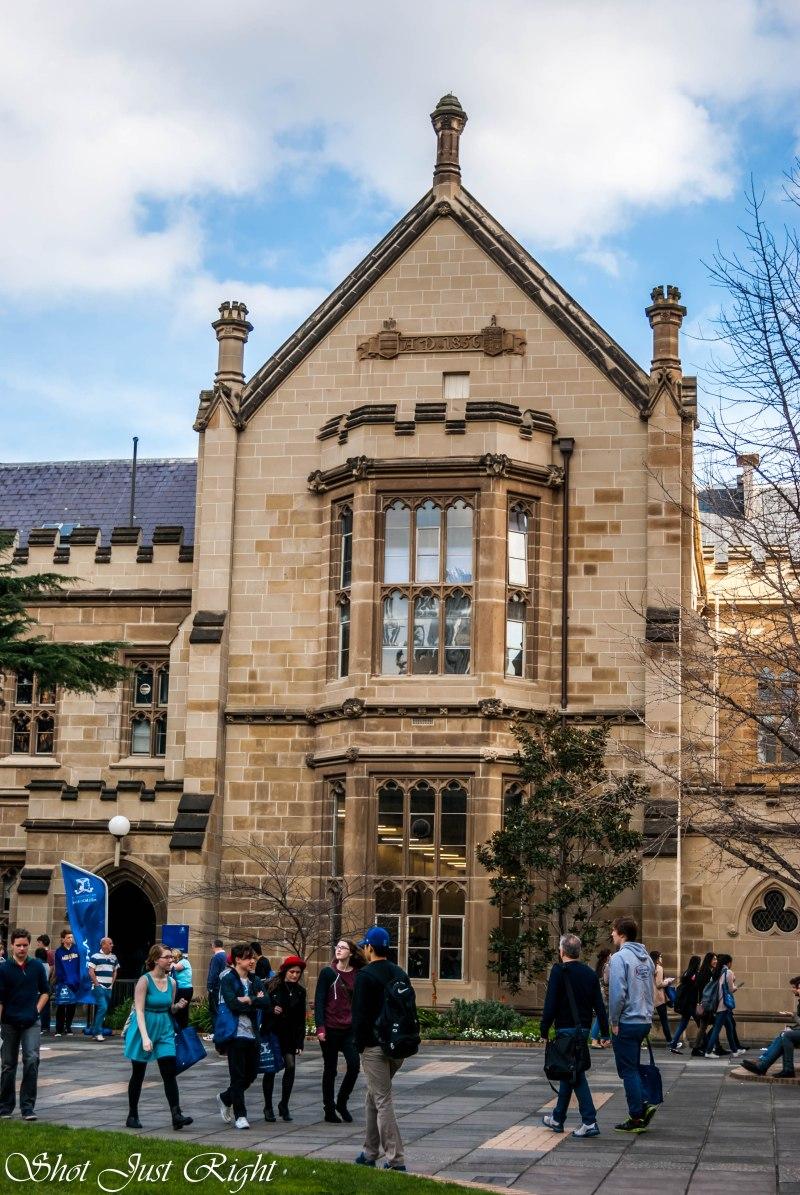 Melbourne Uni -1856