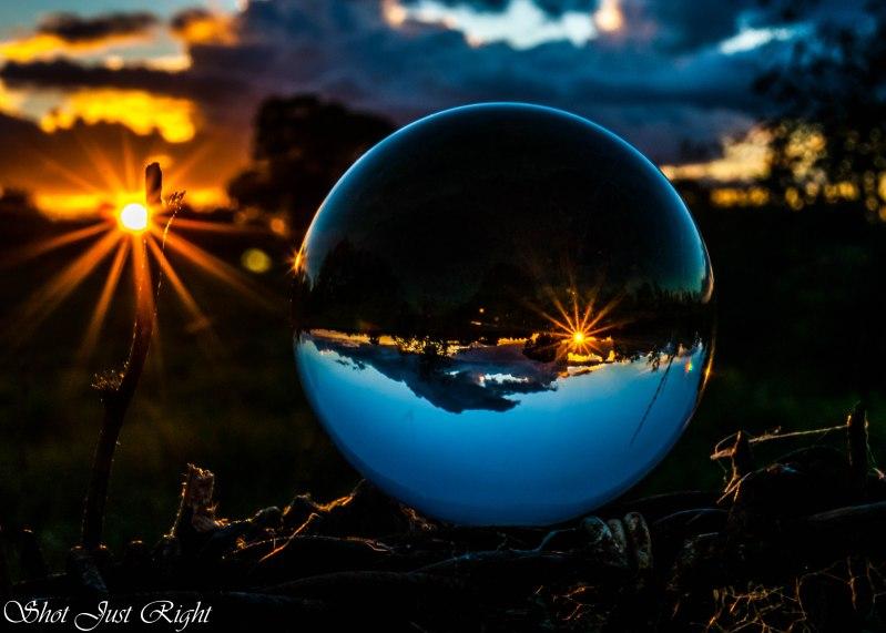 Crystal Ball Sunset tonight
