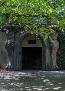 Entrance to A Carpark