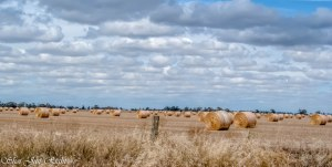 HDR of the bales near Echuca