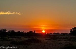 Sunrise north of Deniliquin