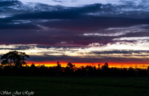 Sunset a few days ago